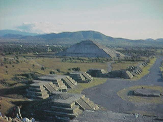 Teotihuacanaztec city